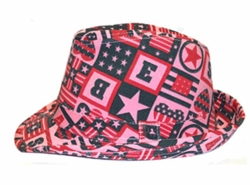 Cotton Canvas Fedora Bucket Hats