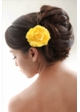 Country  Rose Hair Clip inset 1