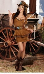 Cowgirl Honey Costume