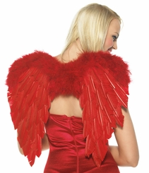 Cupid Angel of Love Costume Kit with Wings and Bow