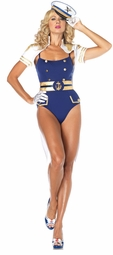 Curvaceous Showstopping Captain Costume