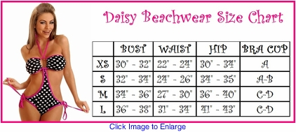 Daisy Beachwear Swimsuits