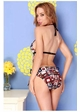 Deco Print Cutout Swimsuit inset 2