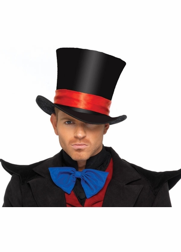Deluxe Men's Velvet Top Hat