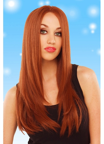 Deluxe Very Long Lace Front Wig Diamond