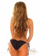 Denim Triangle Pucker Back Bikini inset 1