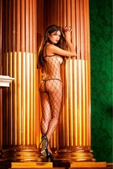 Diamond Fence Net Bodystocking