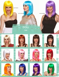 Doll- Chic Tapered Wig with Full Bangs