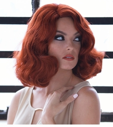 Dramatic Finger Wave Wig