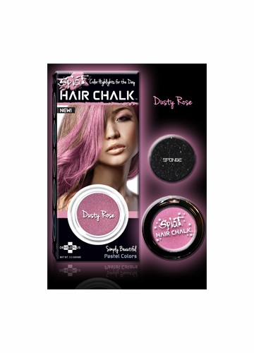 Dusty Rose Hair Chalk from Splat Hair Color