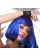 Edgy Page Style Wig in Dark Blue inset 1