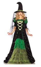 Emerald Green Witch
