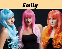 Emily-2-Tone Very Long Wig with Soft Curl