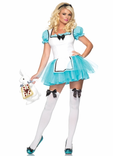 Enchanted Alice in Wonderland Halloween Costume