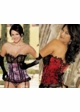 Eve Satin and Lace Corset  inset 1