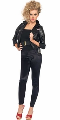Faux Leather T-Birds Grease Jacket for Women