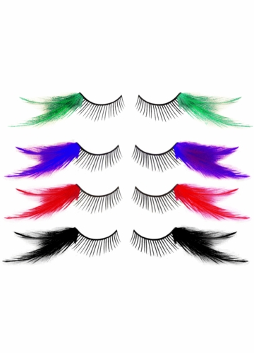 Feather Corner Lashes