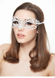 Firefly Masquerade Mask with Crystals