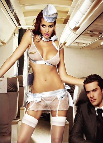 Flight Attendant Lingerie Costume