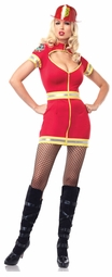 Flirty Firefighter Costume