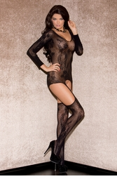 Floral Lace Cami Bodystockings