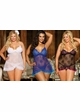 Floral Lace Mini Dress with G-string inset 4