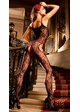 Flower Lace Suspender Bodystocking inset 1