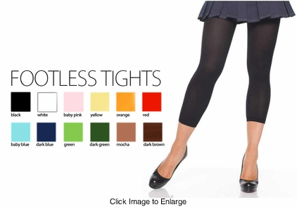Footless Tights