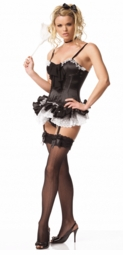 French Maid Corset Costumes