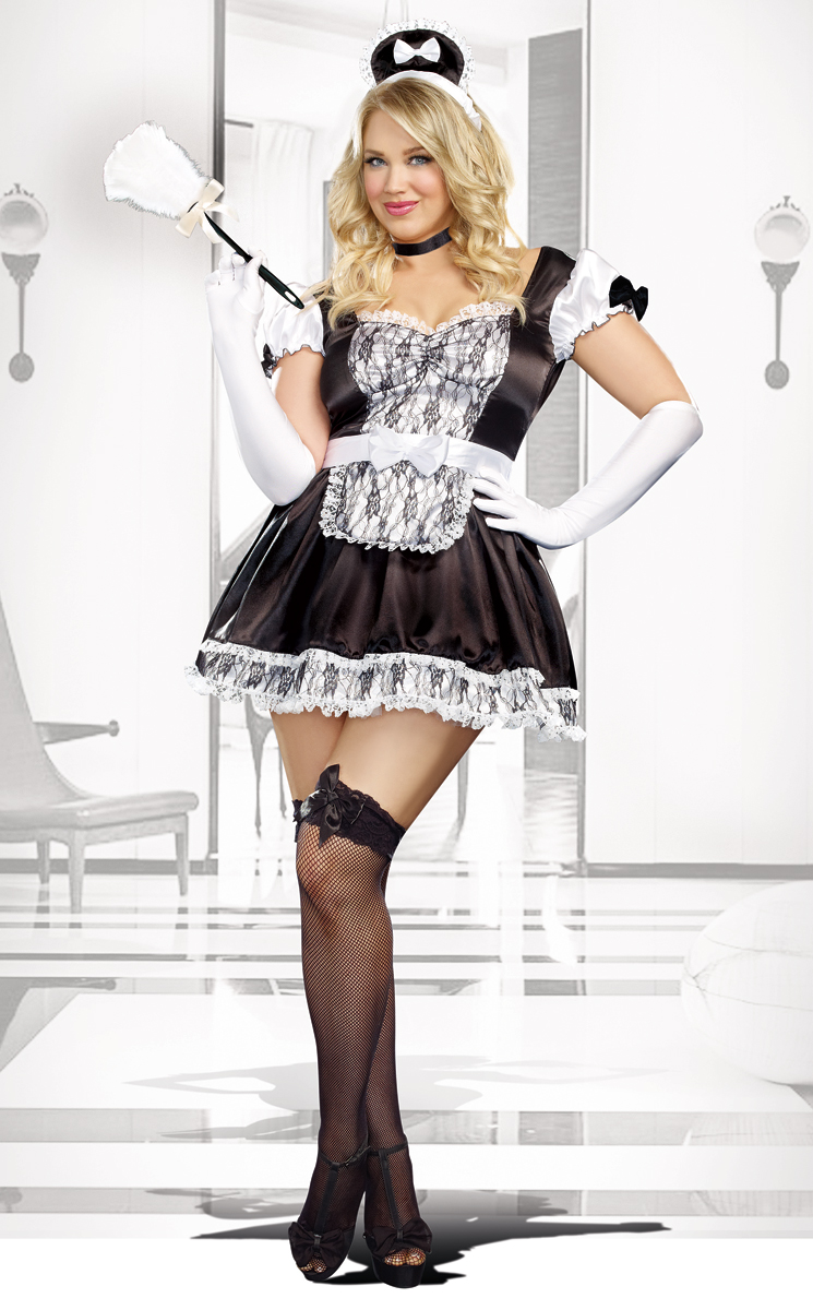 French Woman Halloween Costume French Maid for You Ha...