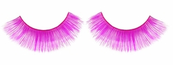Fuchsia Pink Fake Eyelashes