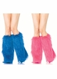 Furry Lurex Leg Warmers inset 1