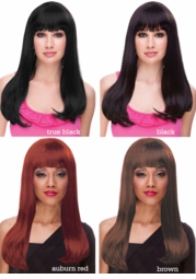Glamour Kelly Wig in Alluring Dark Shades