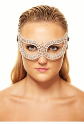 Glimmer Crystal Masquerade Mask