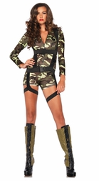 Going Commando Army Costume