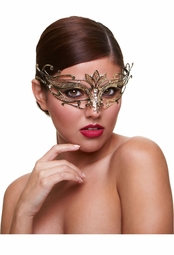 Goddess Masquerade Mask with Crystals