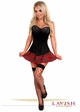 Gothic Schoolgirl Corset Costume with Plaid Mini Skirt inset 3