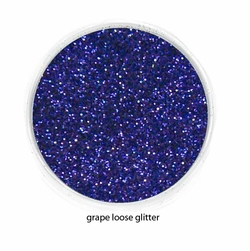Grape Purple Color of Luxe Glitter Powder for Eyeliner and Eye Makeup
