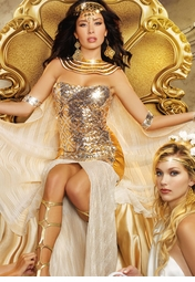 Greek Goddess, Egyptian Cleopatra Costumes