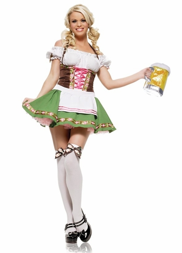 Gretchen Alpine Babe Costume