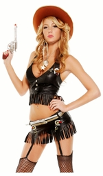 Gungslinger Sexy Cowgirl Costume