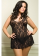 Halter Rose Lace Princess Dress inset 1