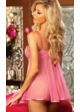 Heart Embroidered Babydoll with G-string inset 1