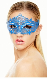 Heart of the Masquerade Vibrantly Colored Mask