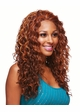 Heat and Styling Friendly Front  Lace Wig with Long Cascading Curls inset 2