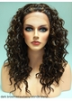 Heat and Styling Friendly Lace Front Wig with Braided Front and Curls inset 4