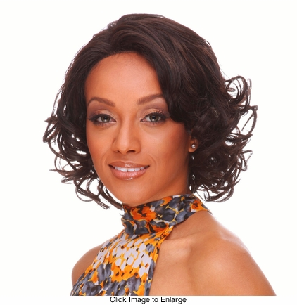 Heat and Styling Friendly Lace Front Wig with Short Glamour Curls