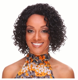 Heat and Styling Friendly Lace Front Wig with Short Spiral Curls