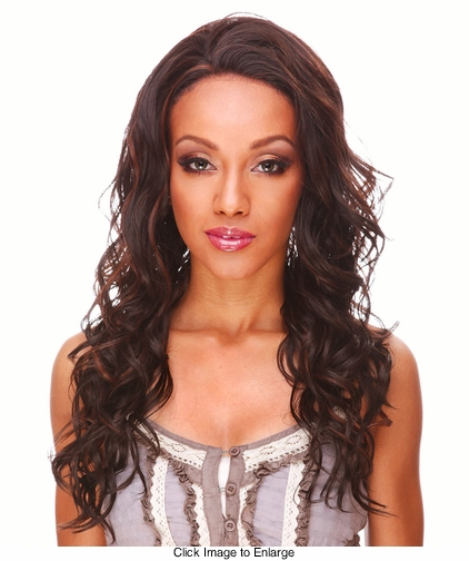 Heat and Styling Friendly Lace Front Wig with Tousled Glamour Curls