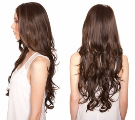 Heat and Styling Friendly Lace Front Wig with Very Long Tousled Curls